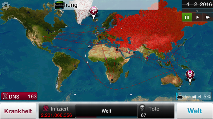 Plague Inc - Klein