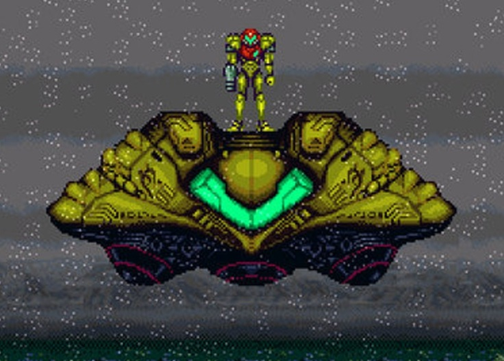 21 Einsamkeit Super Metroid