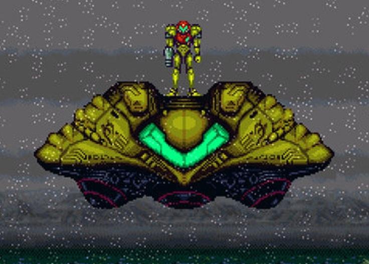 21 Einsamkeit Super Metroid